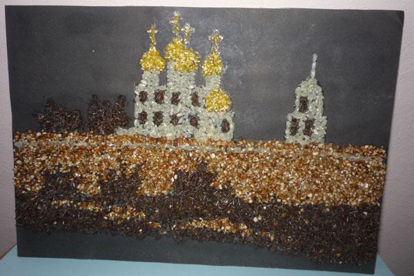 Поделки на тему мой город москва